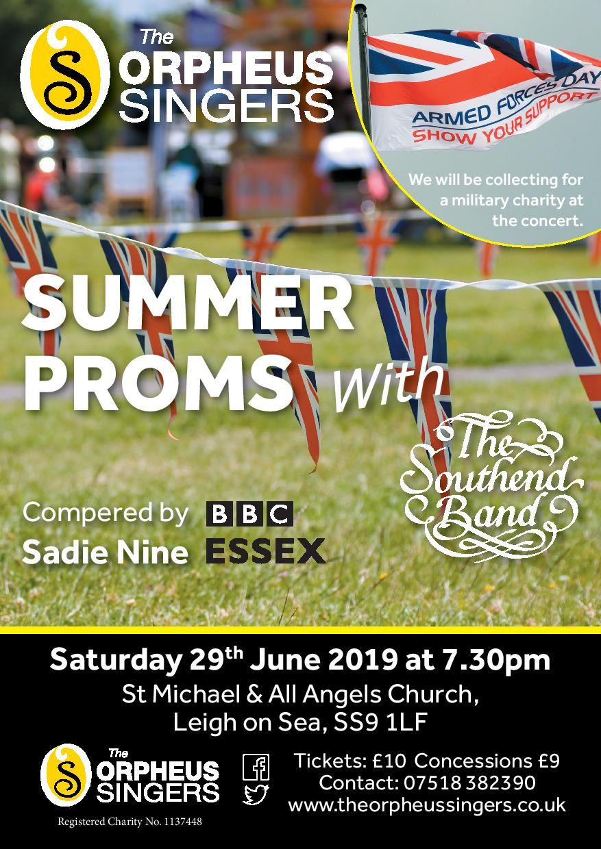 Summer Proms with Southend Band