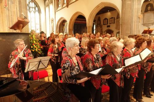 2017 Chelmsford Cathedral choir + Jo on flute