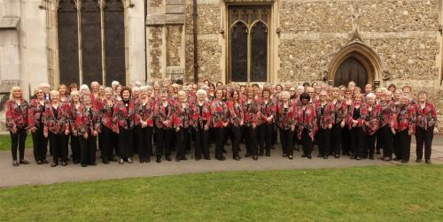 2017 outside Chelmsford Cathedral